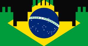 ブラジル国旗ロゴ