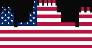アメリカ国旗ロゴ